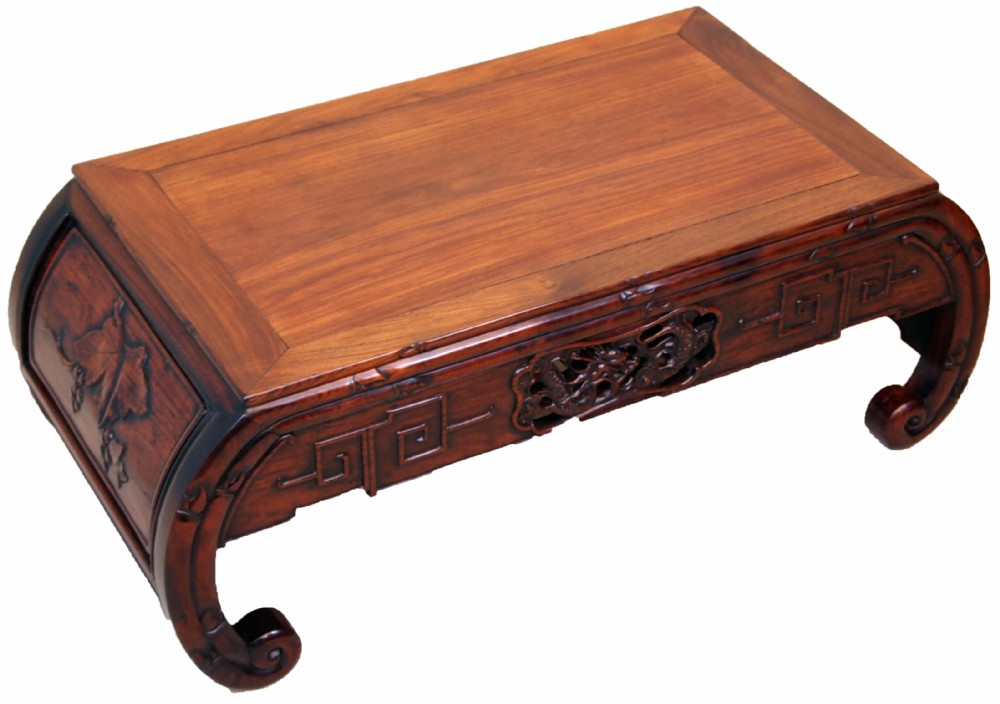 Antique Oriental Hardwood Opium Coffee Table 319592