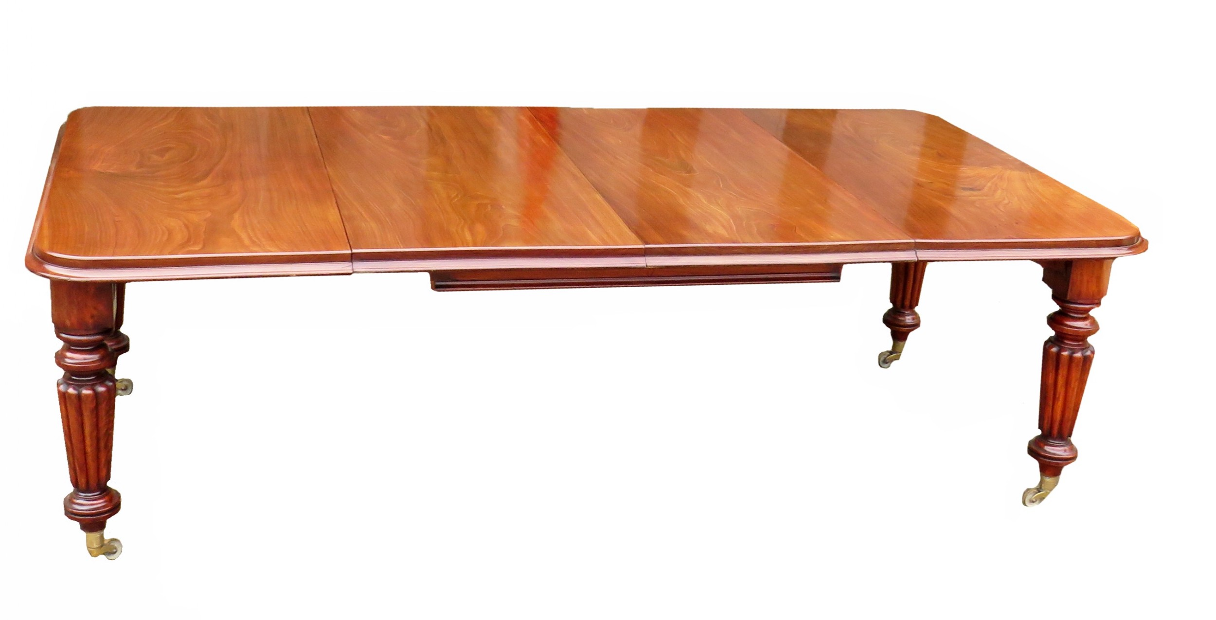 19th century victorian mahogany extending dining table