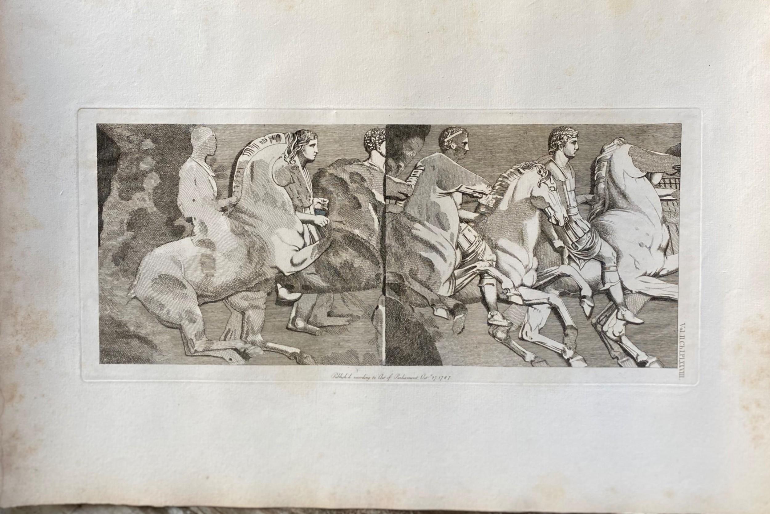 18th century engraving james basire horses