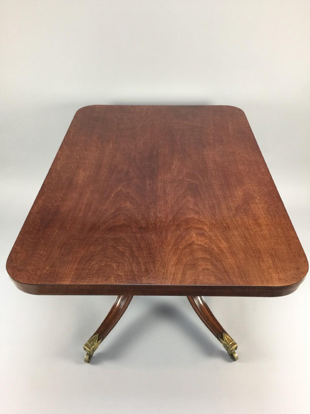 antique george iii mahogany tilttop breakfast centre table