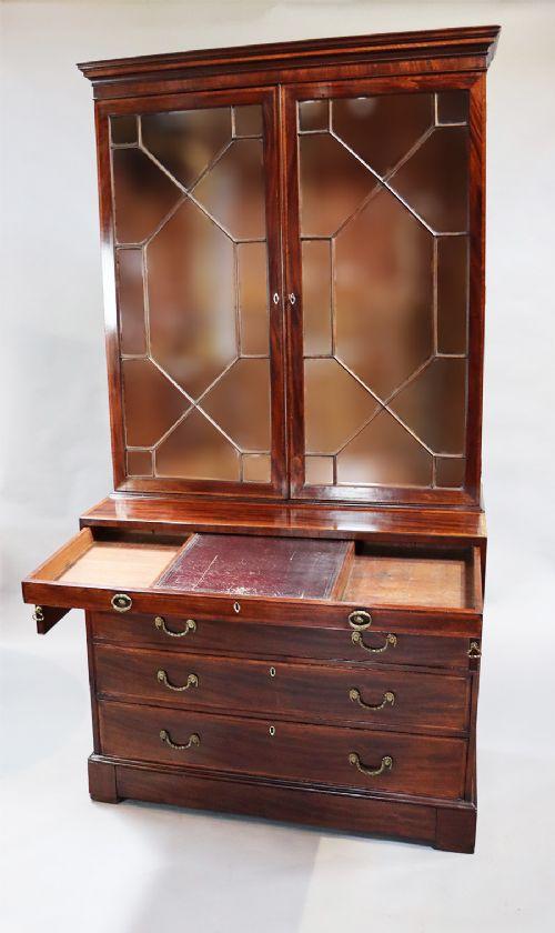 george iii twodoor bookcase