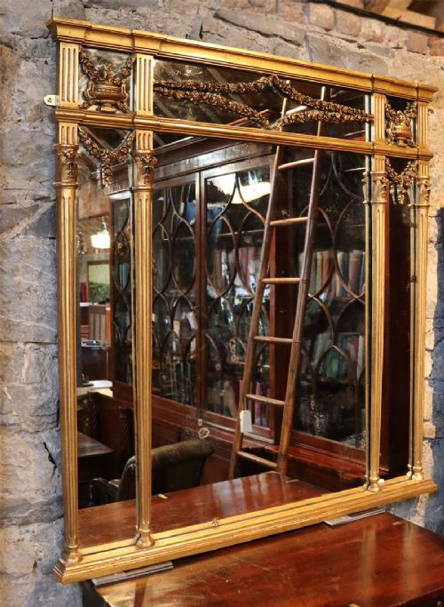 neo classical french mirror