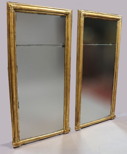 pair of william iv pier mirrors
