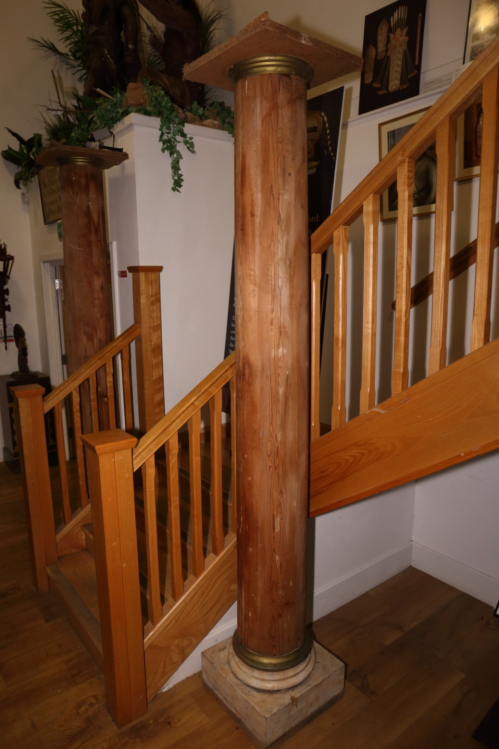 pine columns magnificent possibly early victorian