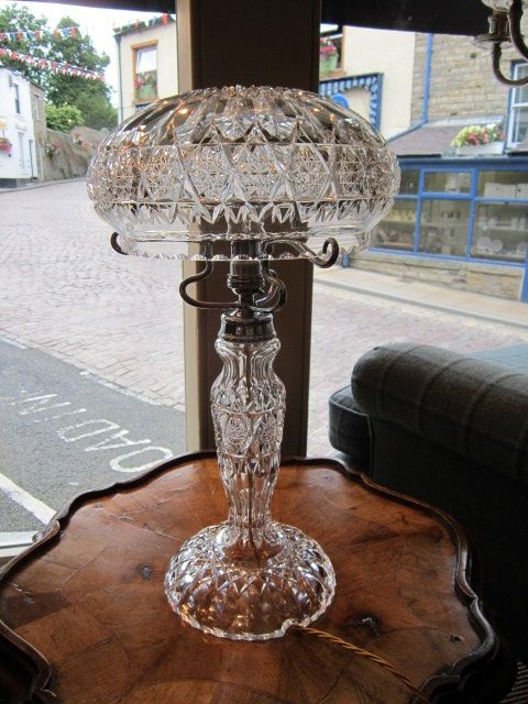 Superb edwardian crystal cut glass table lamp 416762 superb edwardian crystal cut glass table lamp mozeypictures Images