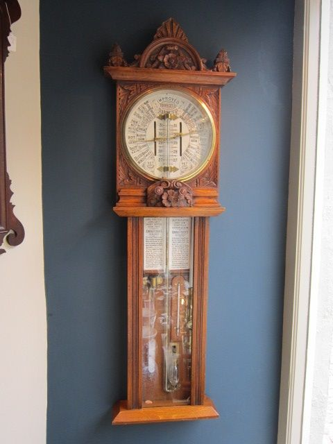 rare victorian polytecnic admiral fitzroy barometer