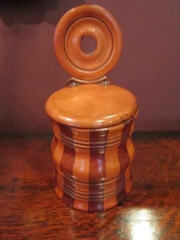 fine scottish early victorian salt box