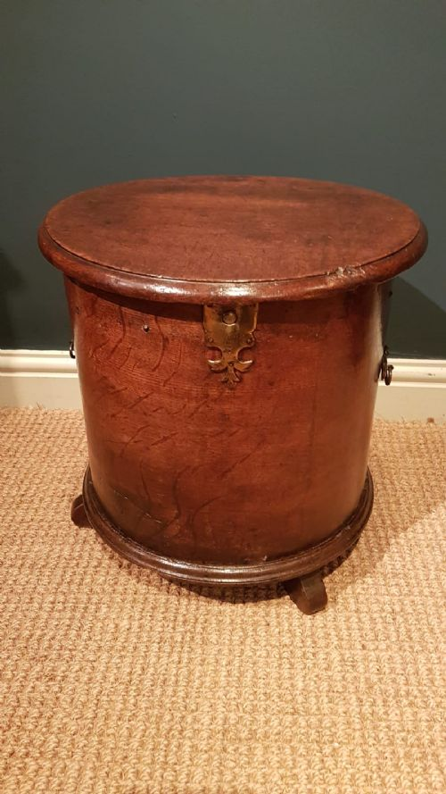 unusual george iii oak circular close stool