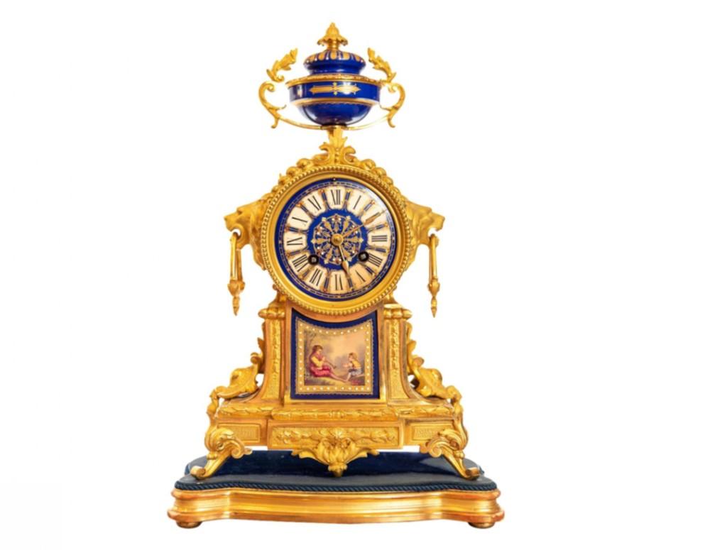 19th century french ormolu clock