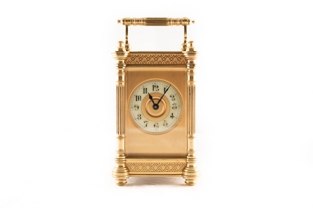 french 8 day timepiece movement carriage clock