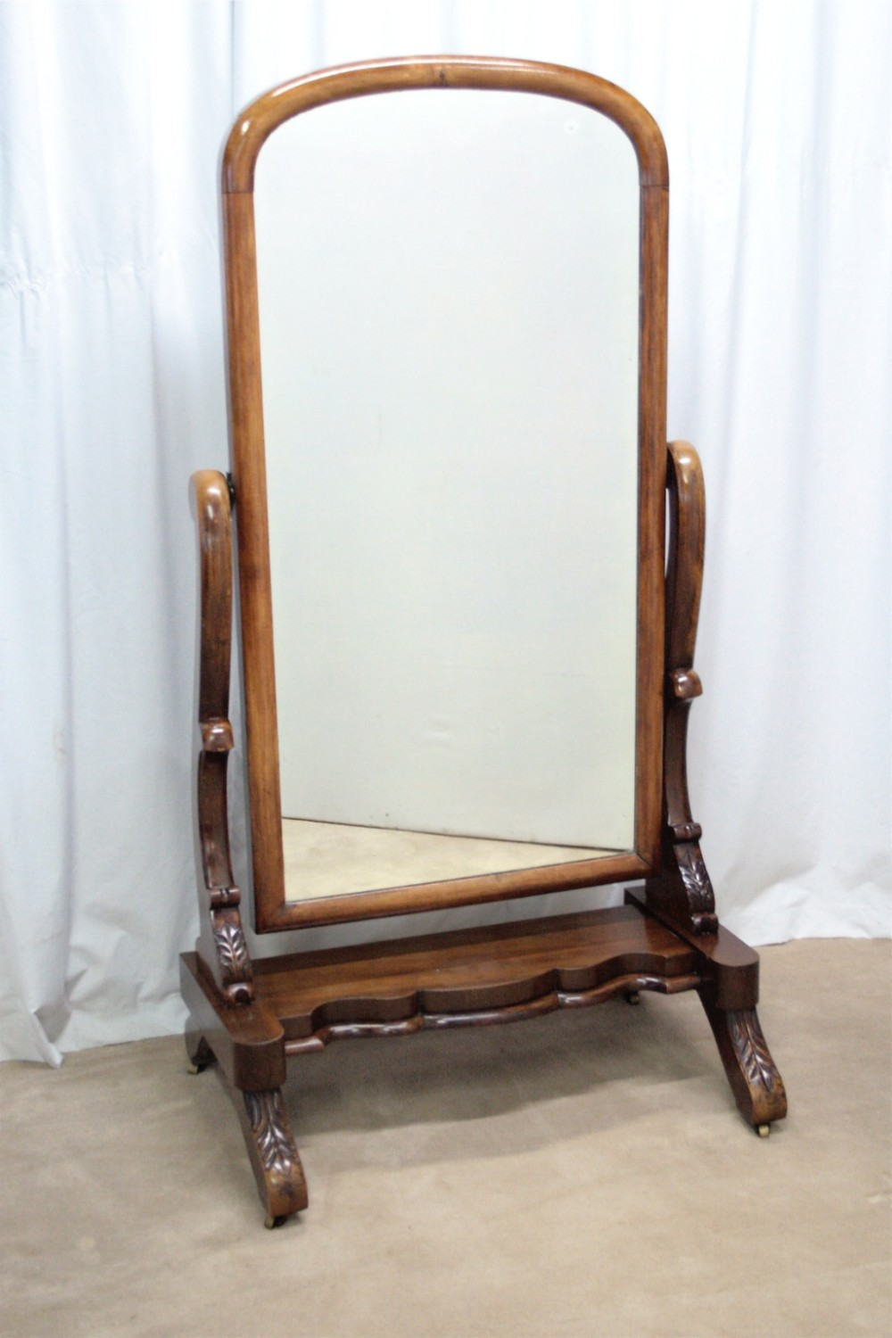 19th century cheval mirror 247945 for Cheval mirror