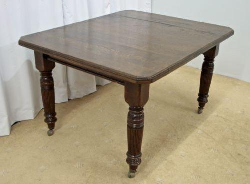 victorian oak table