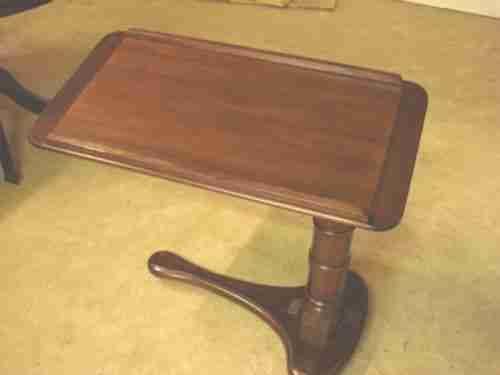 a victorian mahogany reading table by john carter