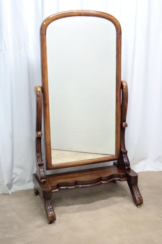 19th Century Cheval Mirror 247945 Sellingantiquescouk