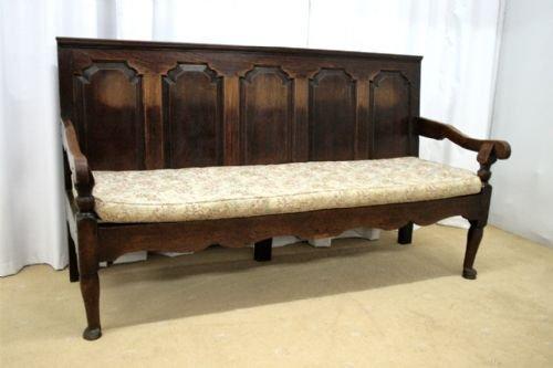 oak settle circa 1800