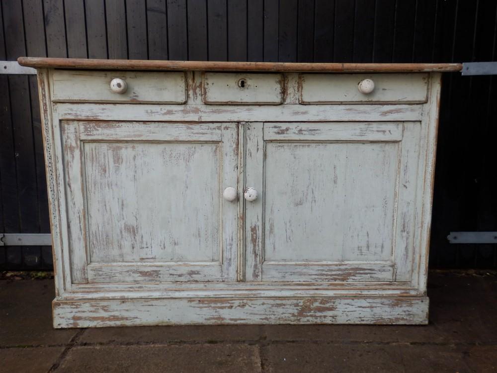 pine painted dresser base