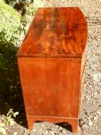 CHEST OF DRAWERS, BOW FRONT, GEORGIAN is a good vintage wood baby high chair, french bergere chairs for sale