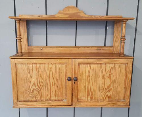 antique hanging cabinet c1870