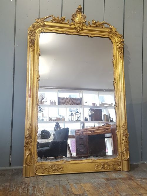 stunning antique french mirror c1850
