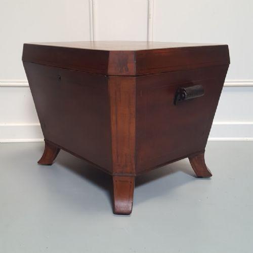 antique regency wine cooler c1820