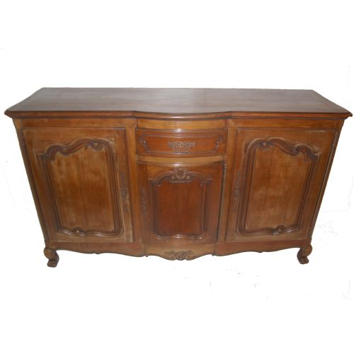 Large french cherry wood sideboard circa