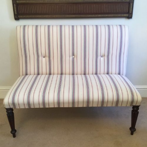 Superb Georgian Window Seat Or Small Sofa 349850 Machost Co Dining Chair Design Ideas Machostcouk