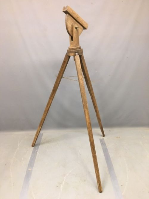 antique tripod stand