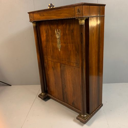 french drop front rosewood secrtaire