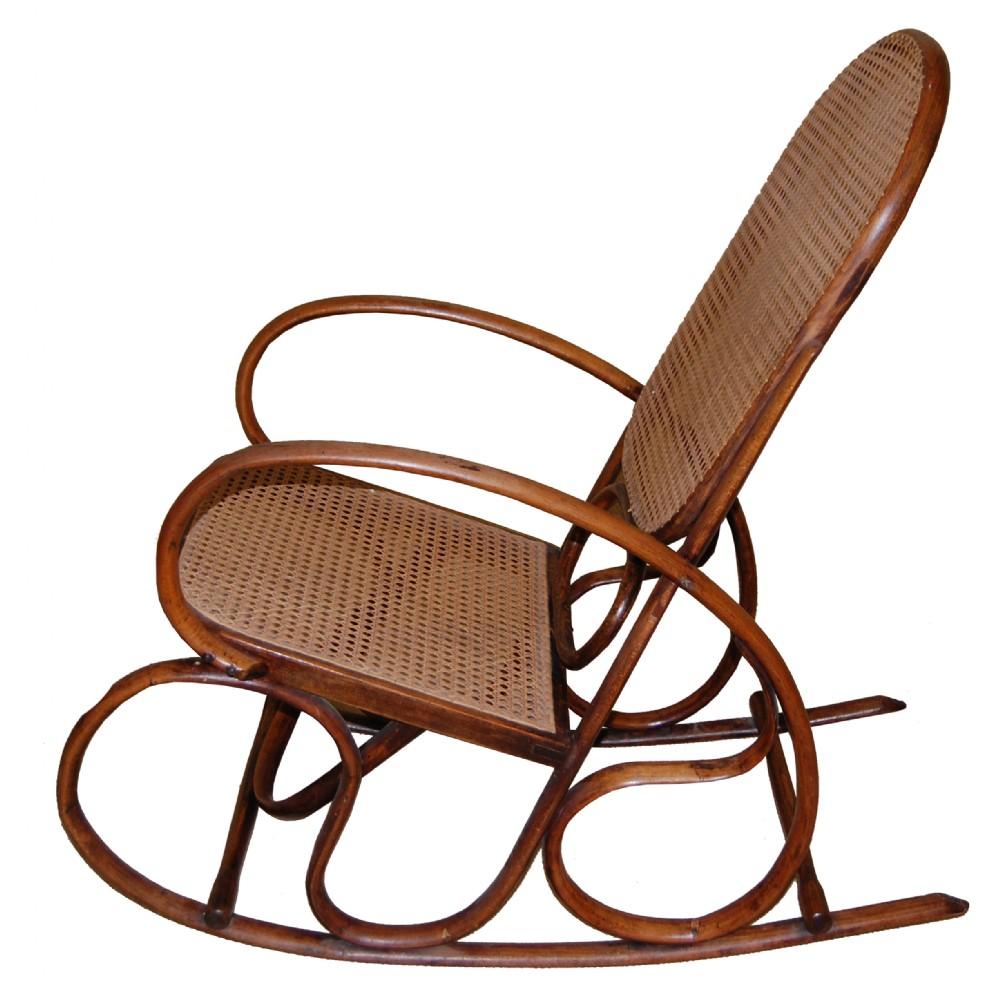 Thonet Style Bentwood Rocking Chair (c697)  284413  Sellingantiques ...