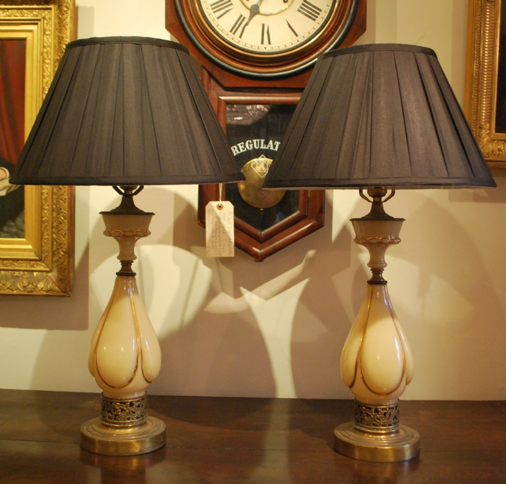 Pair Of Art Deco Style Table Lamps 315379
