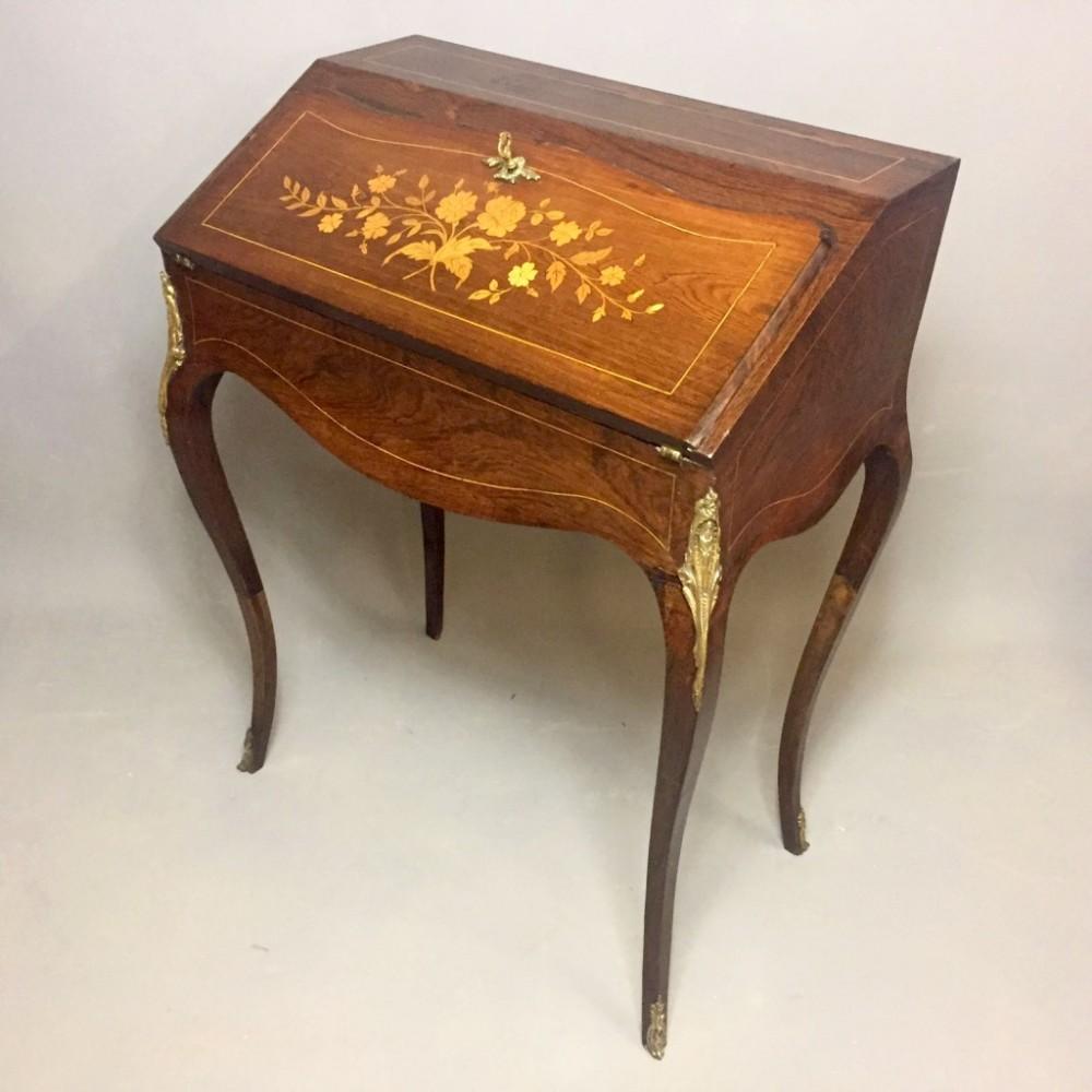 french rosewood bureau de dame
