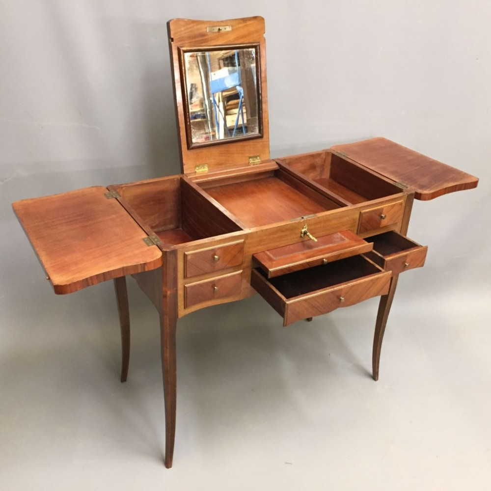 French fold over dressing table sellingantiques