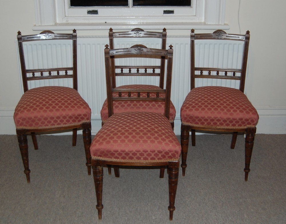 late victorian dining chairs