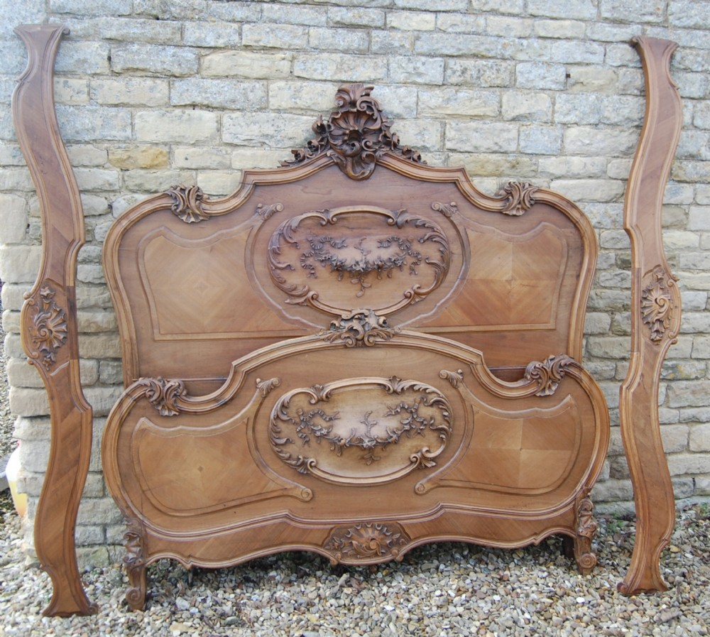 french louis style king size bed
