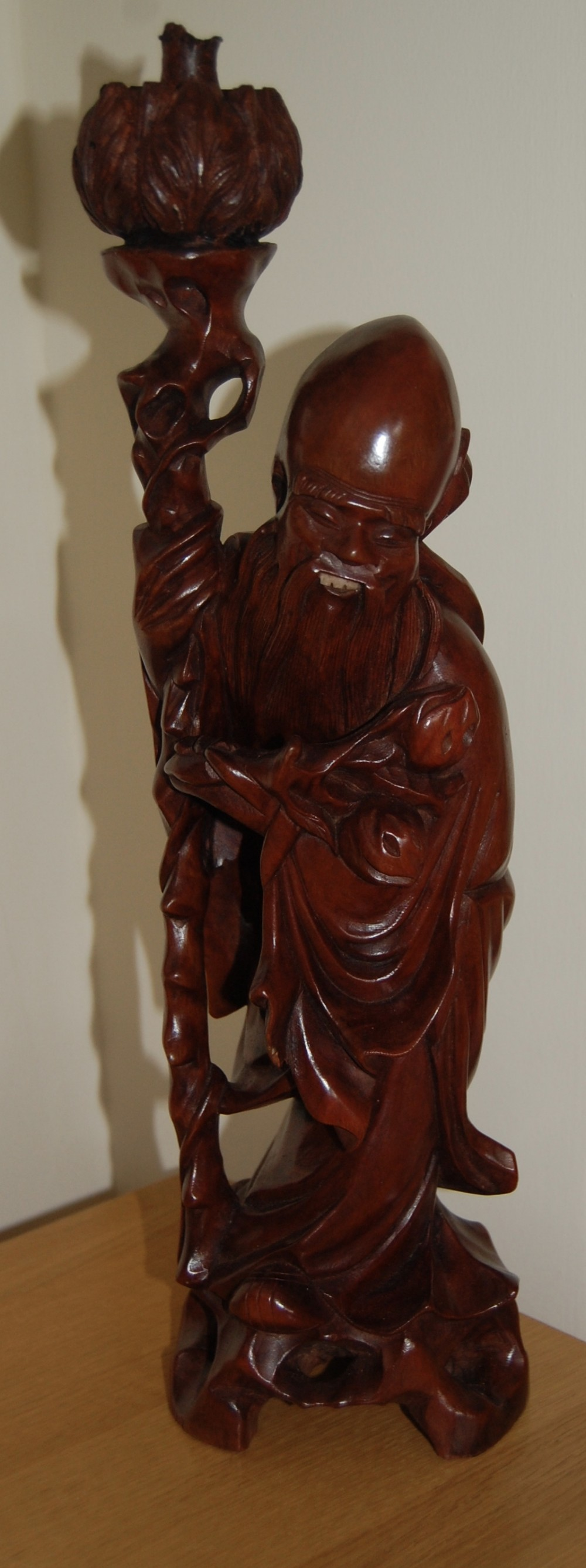 19th century chinese root carving