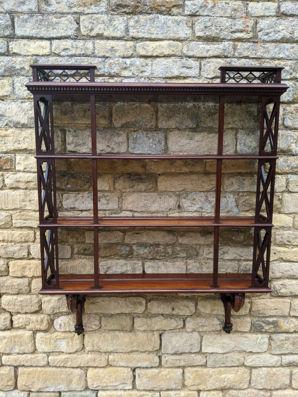 exceptional quality early 19th century wall display