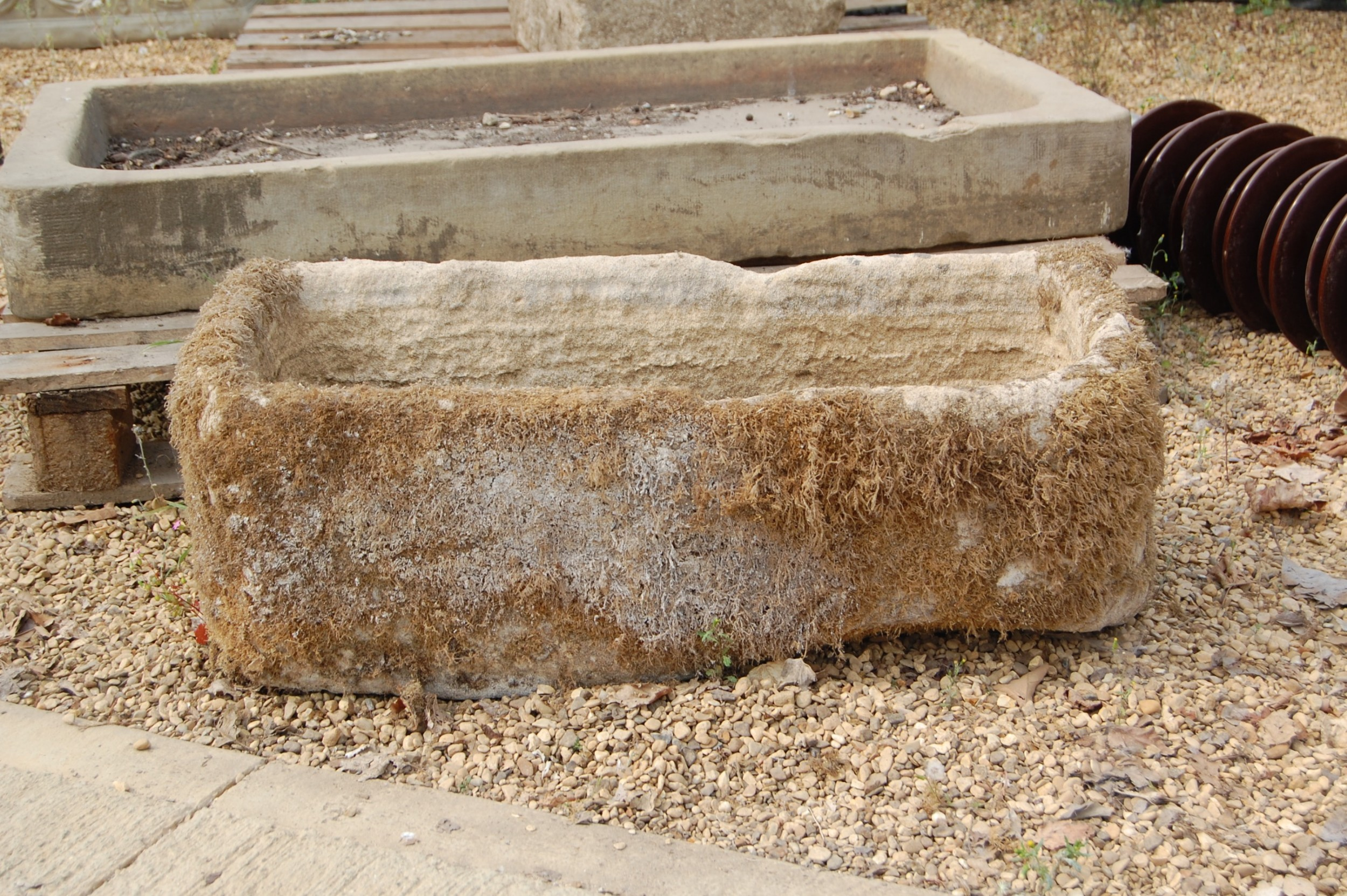 bow front stone trough