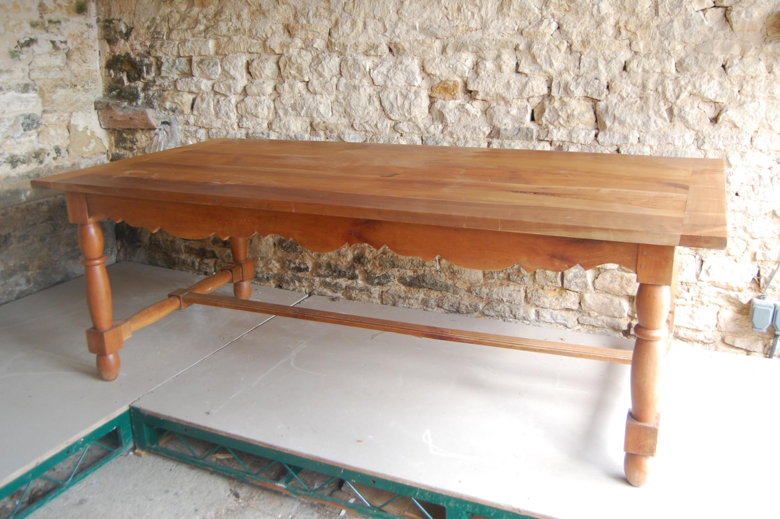 early 20th century farmhouse table