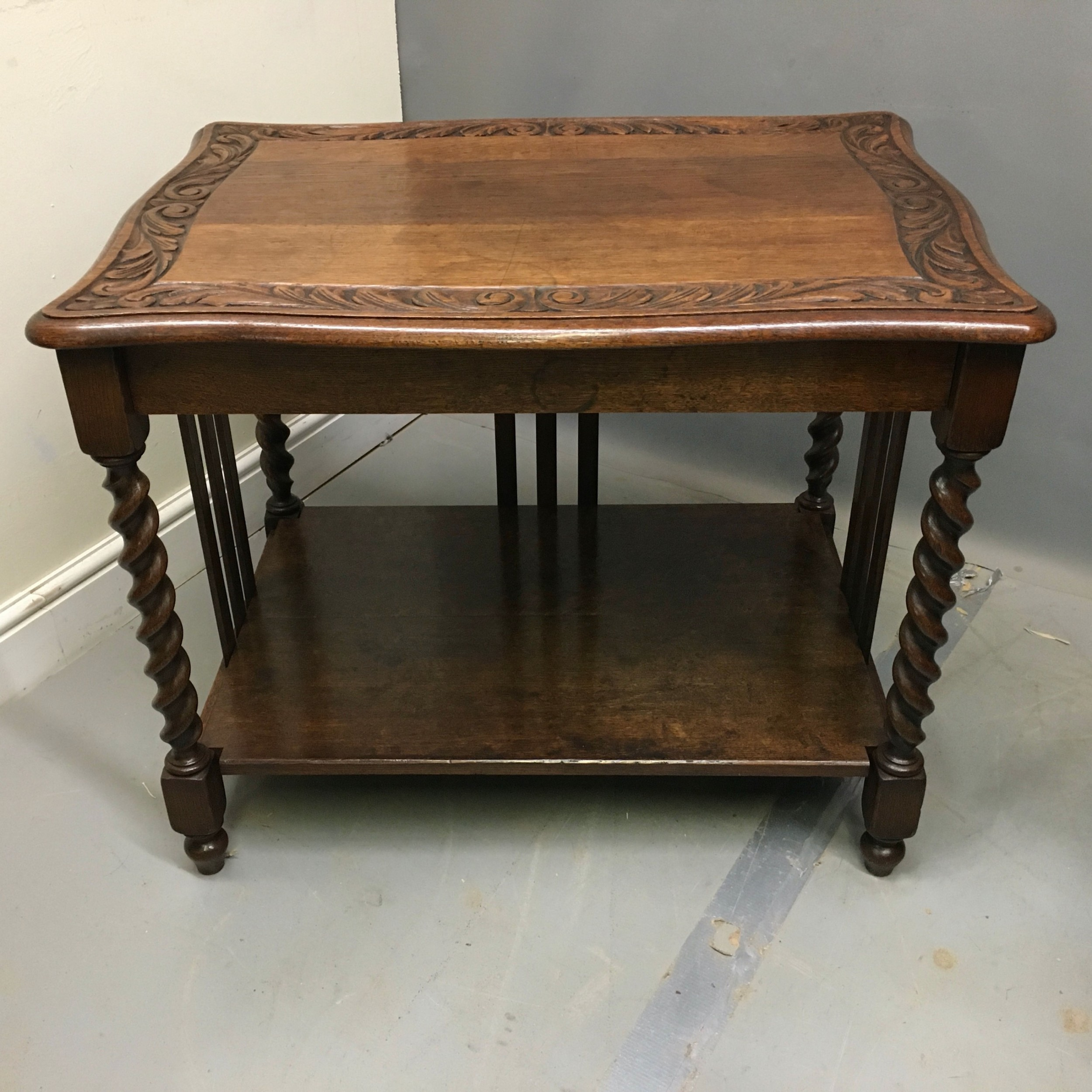 early 20th century oak side table