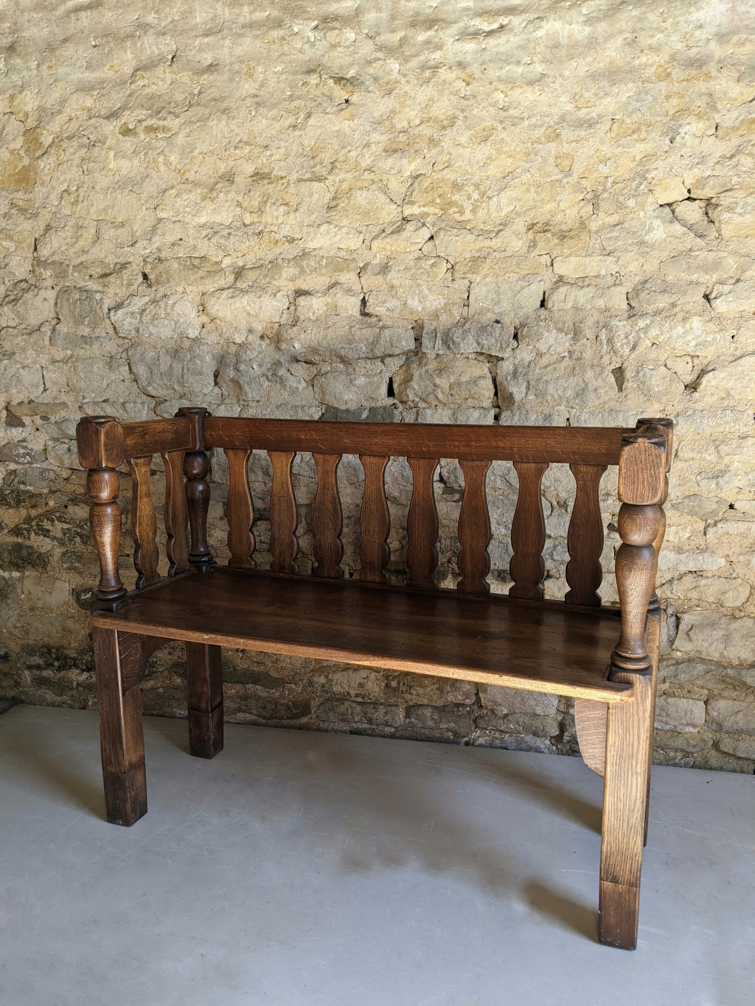 early 20th century bench
