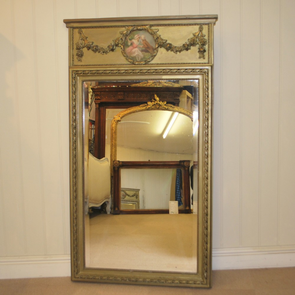 trumeau style french gilt mirror 239382. Black Bedroom Furniture Sets. Home Design Ideas