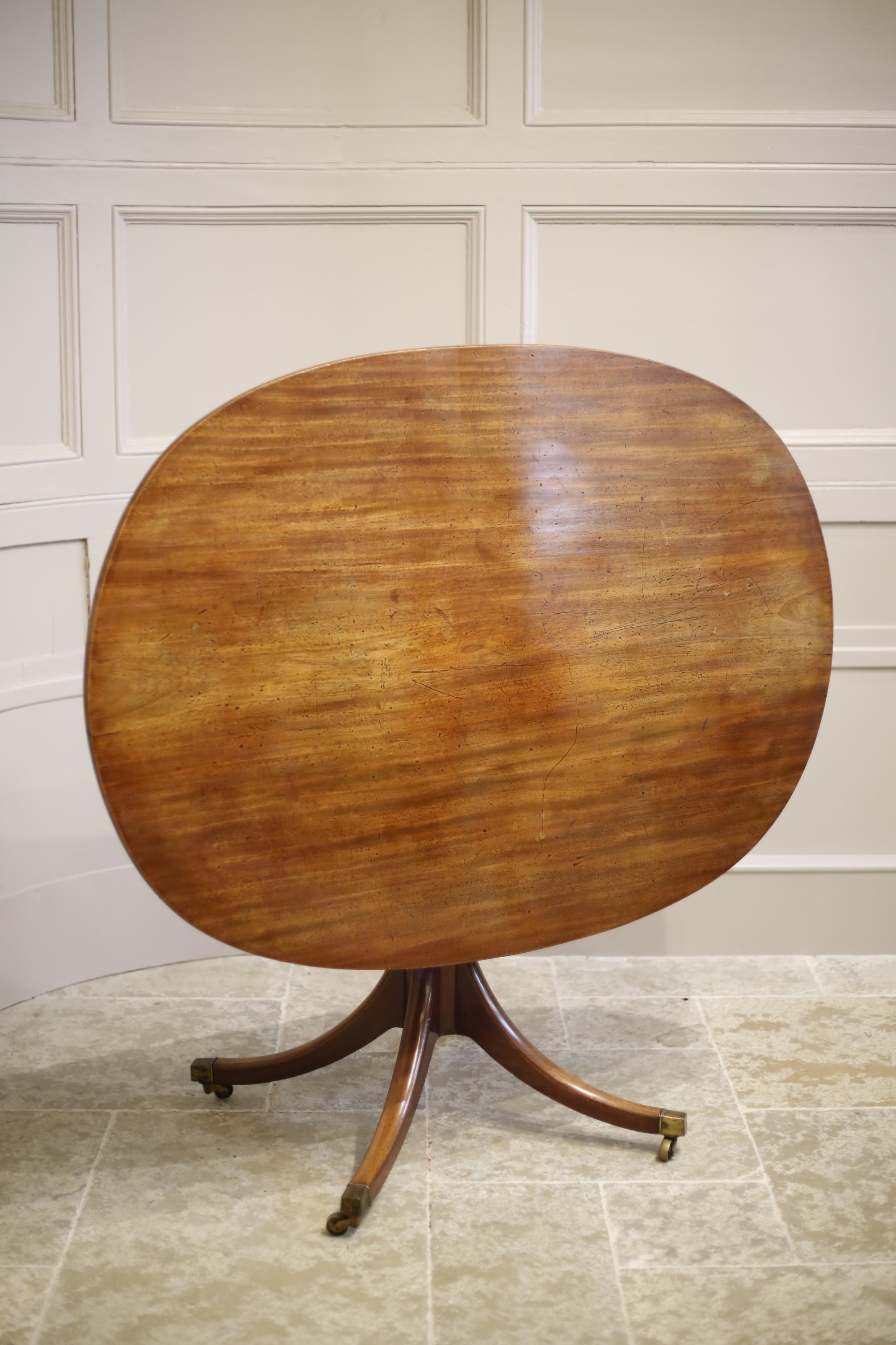 regency mahogany oval flip top breakfast table