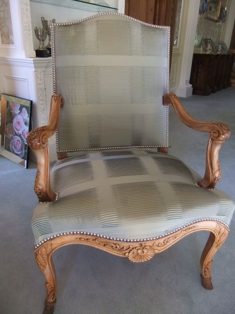 french armchairs pair