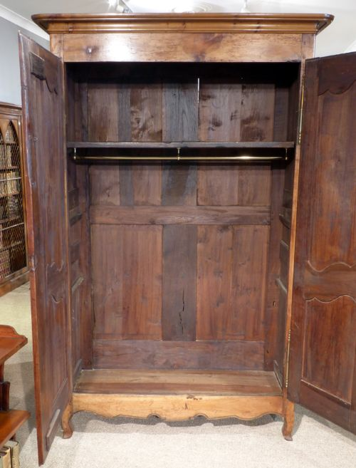 Cherry Wood Armoire ~ Louis xv french cherry wood armoire