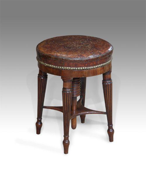 regency mahogany piano stool  sc 1 st  Antiques & Regency Mahogany Piano Stool | 397877 | Sellingantiques.co.uk islam-shia.org