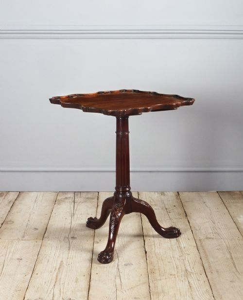 fine quality edwardian mahogany tripod table