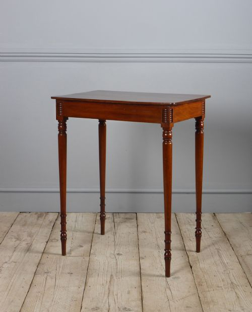 elegant 19th century mahogany lamp table
