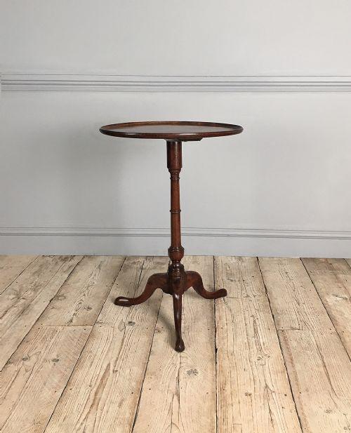 george iii mahogany oval lamp table