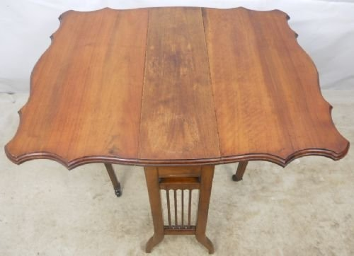 edwardian mahogany sutherland dropleaf coffee table