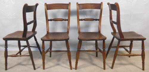 - Four Antique Elm Windsor Kitchen Chairs 113224 Sellingantiques.co.uk